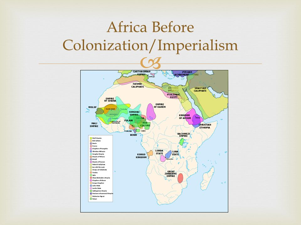 Africa Before Colonization/Imperialism