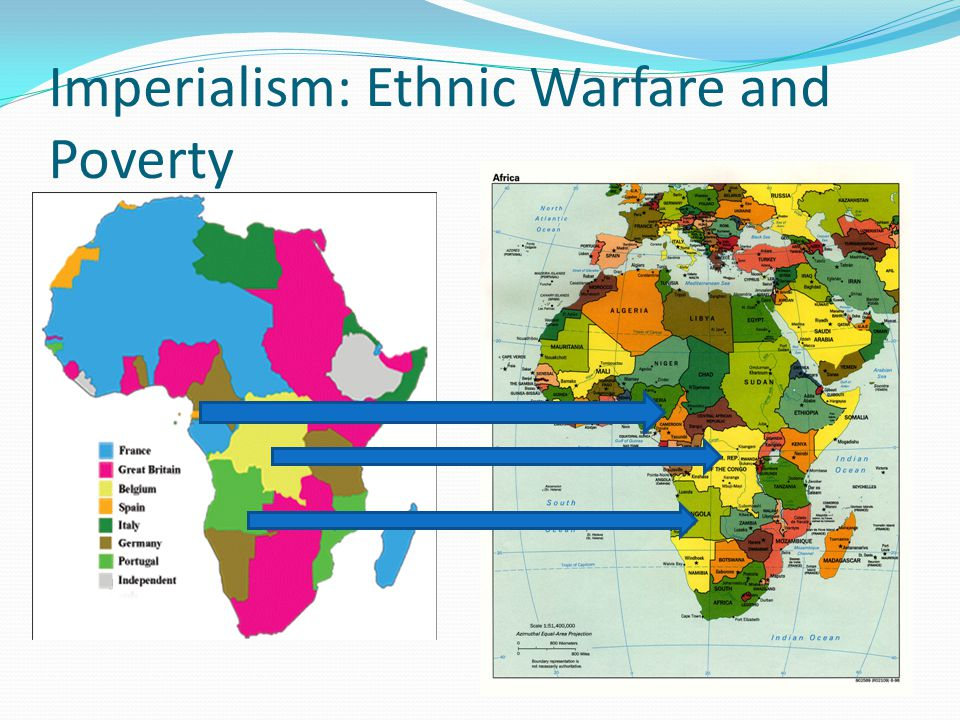 Imperialism: Ethnic Warfare and Poverty