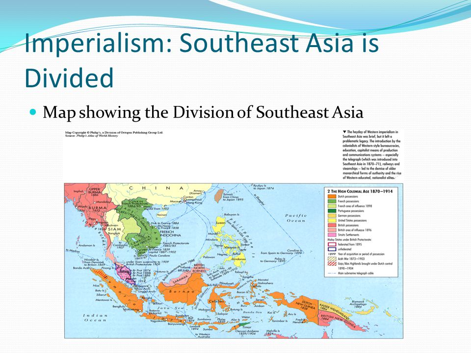 Imperialism: Southeast Asia is Divided