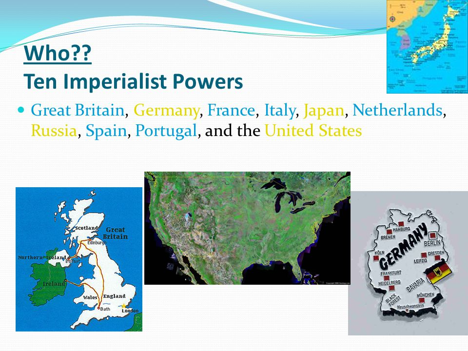 Who Ten Imperialist Powers