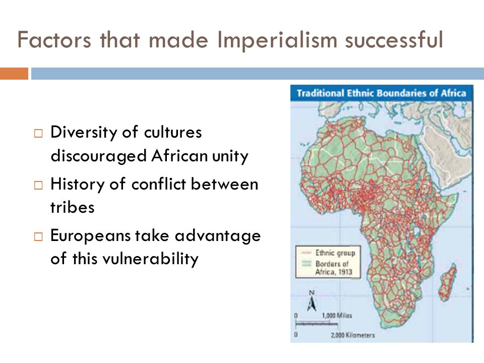 Factors that made Imperialism successful