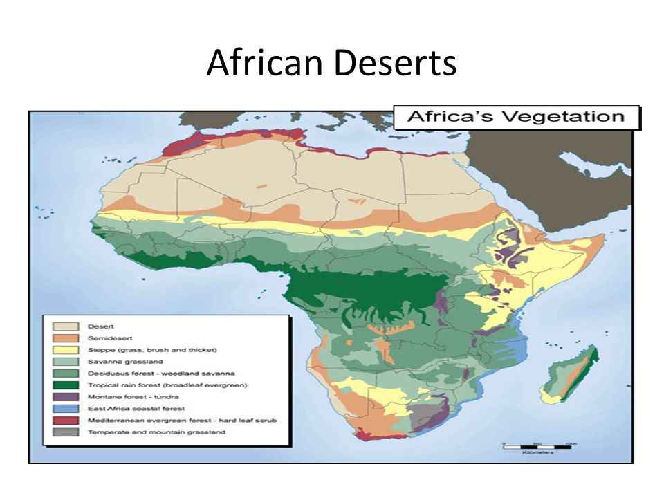 African Deserts