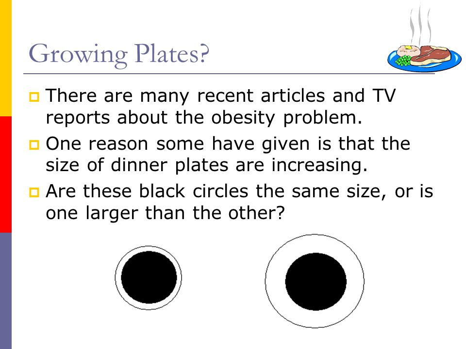 Growing Plates There are many recent articles and TV reports about the obesity problem.