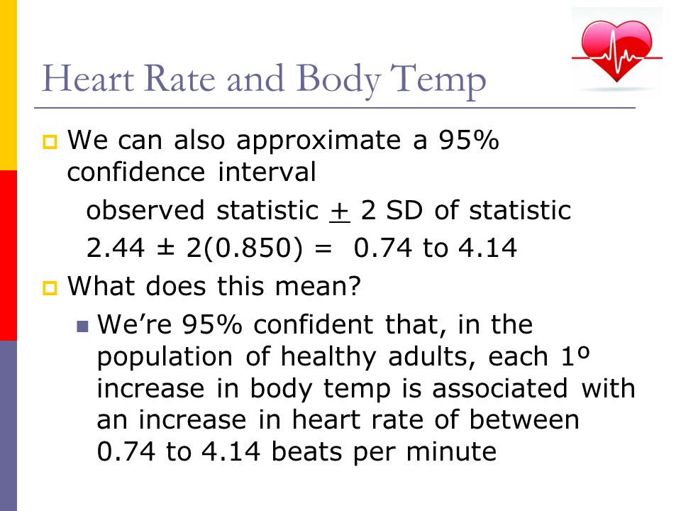 Heart Rate and Body Temp