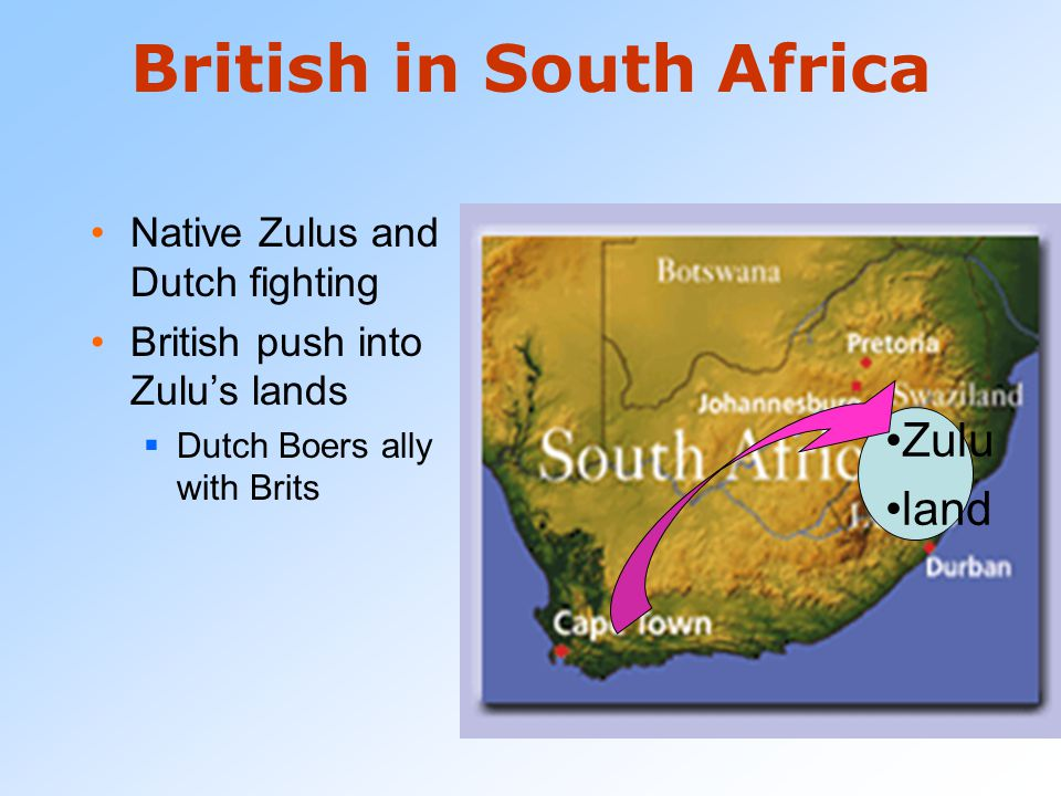 British in South Africa