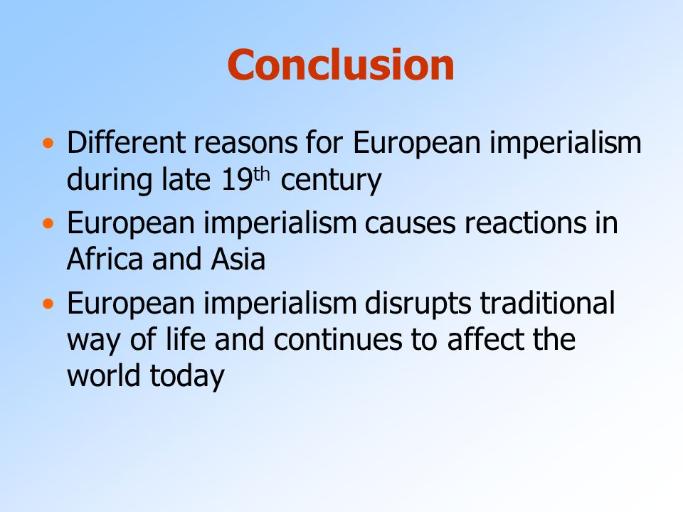 attracted european imperialism africa asia late nineteenth European imperialism up colonies all over africa, latin america, and asia the presence of europe in africa in the late nineteenth century was one.
