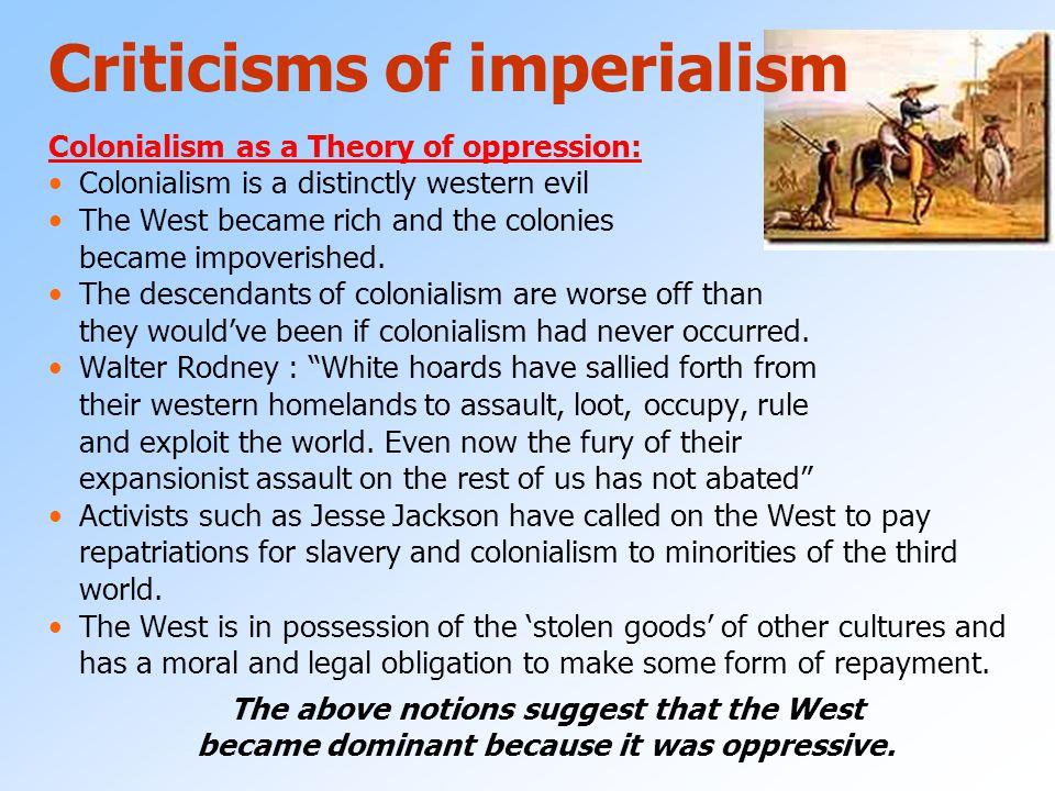 Criticisms of imperialism