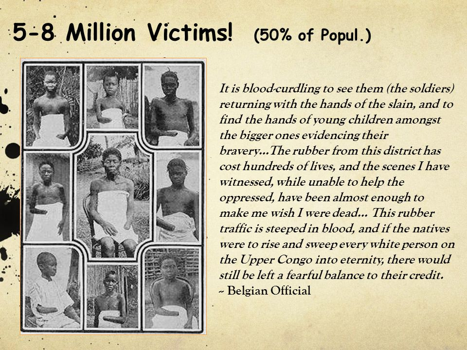 5-8 Million Victims! (50% of Popul.)