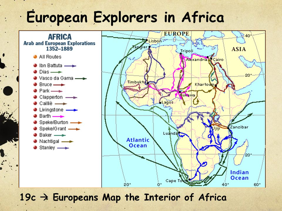 European Explorers in Africa