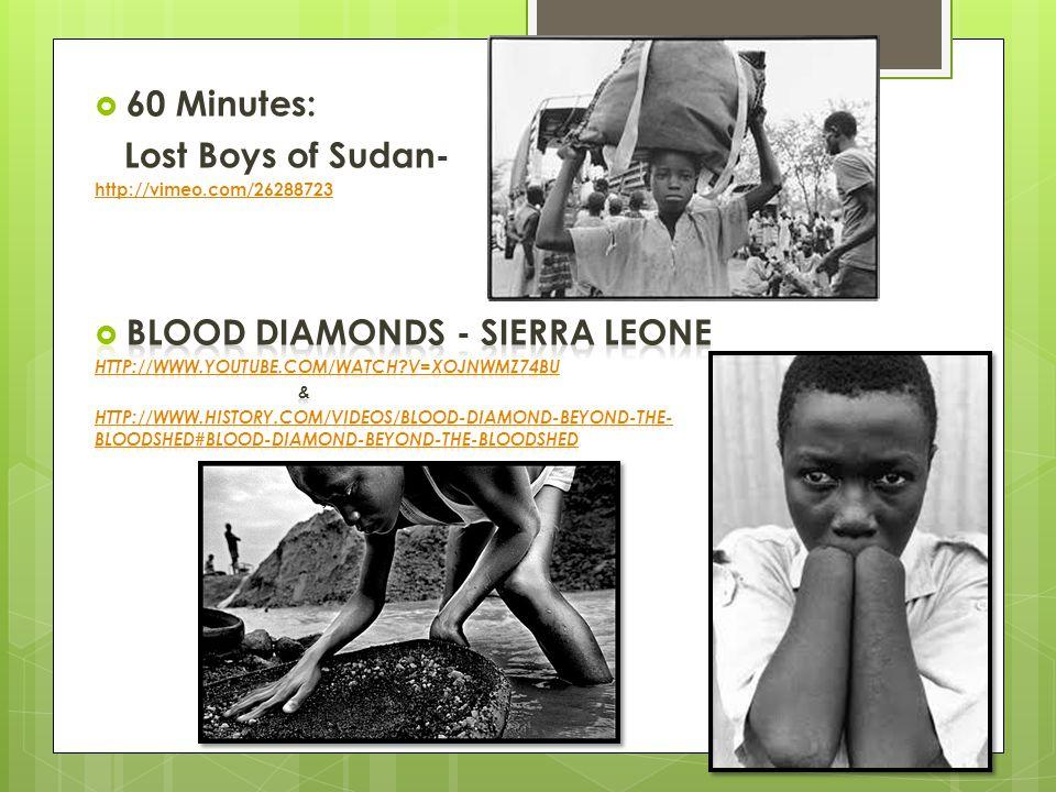 Blood Diamonds - Sierra Leone
