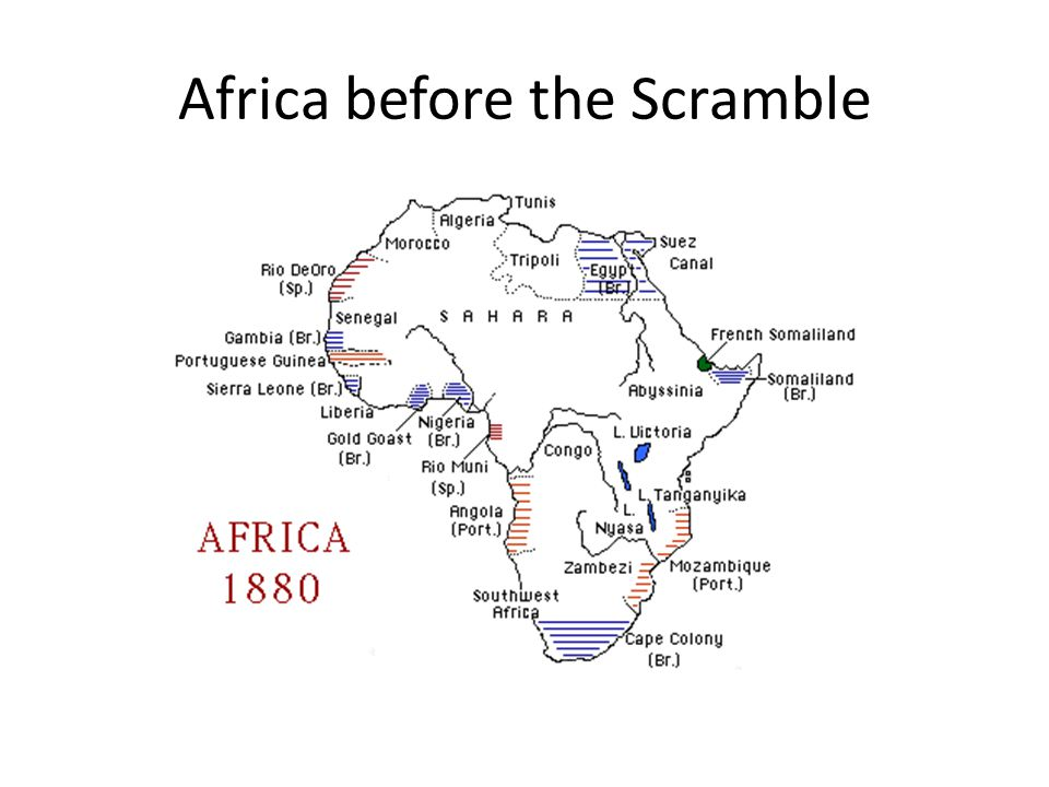 Africa before the Scramble