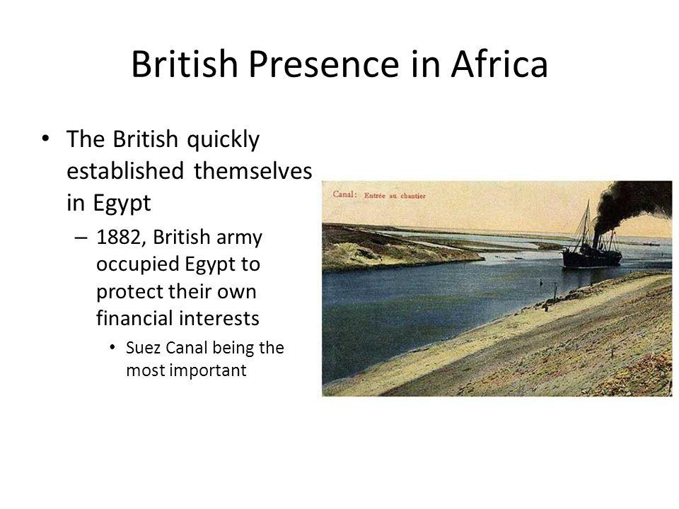 British Presence in Africa
