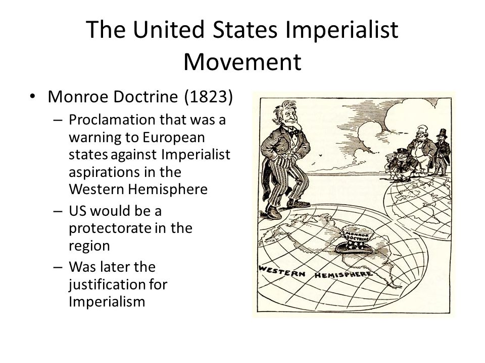The United States Imperialist Movement