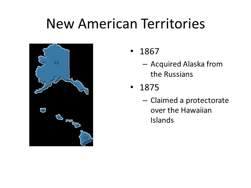 New American Territories