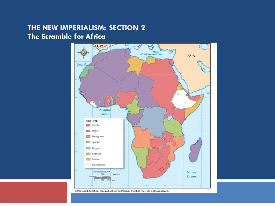 The New Imperialism: Section 2