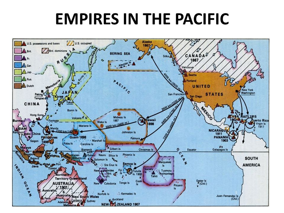 EMPIRES IN THE PACIFIC