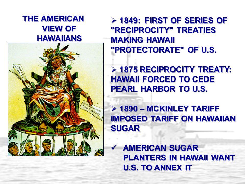 THE AMERICAN VIEW OF HAWAIIANS