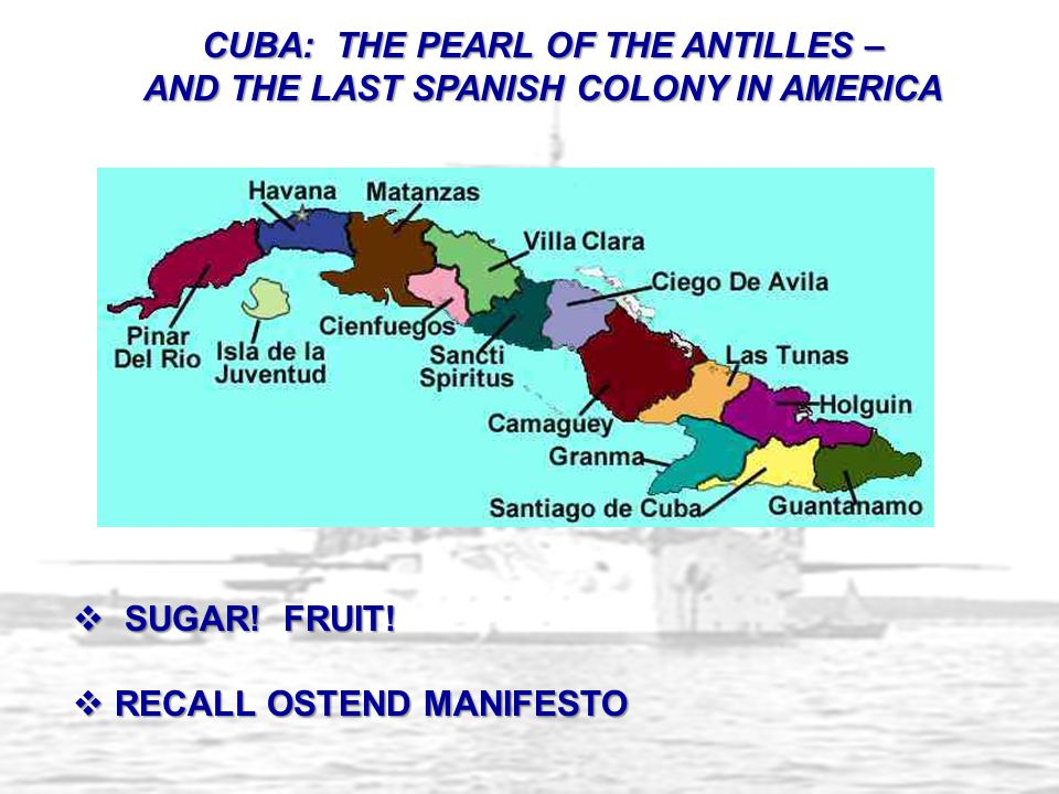 CUBA: THE PEARL OF THE ANTILLES –