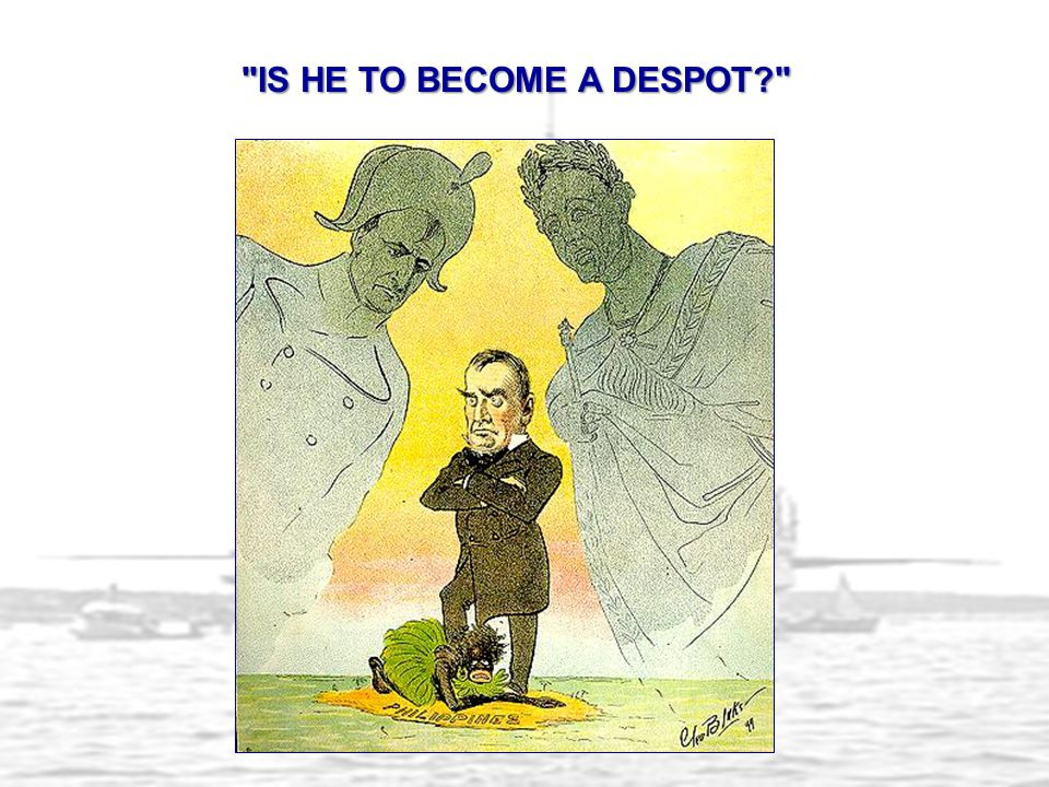 IS HE TO BECOME A DESPOT