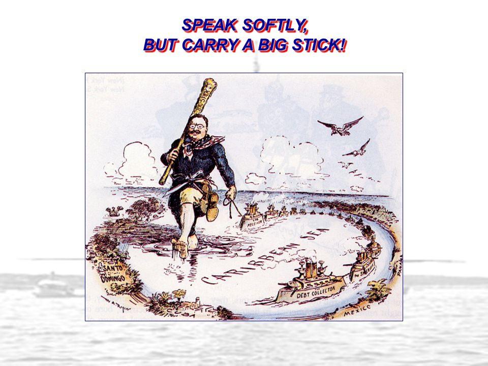 Speak Softly, But Carry a Big Stick!