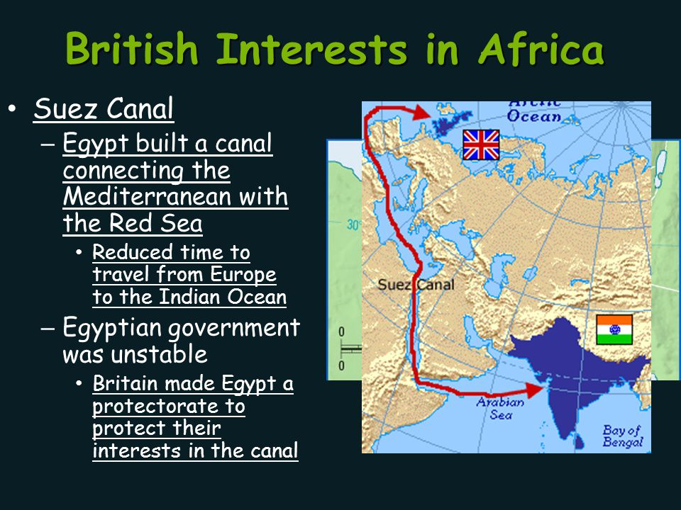 British Interests in Africa