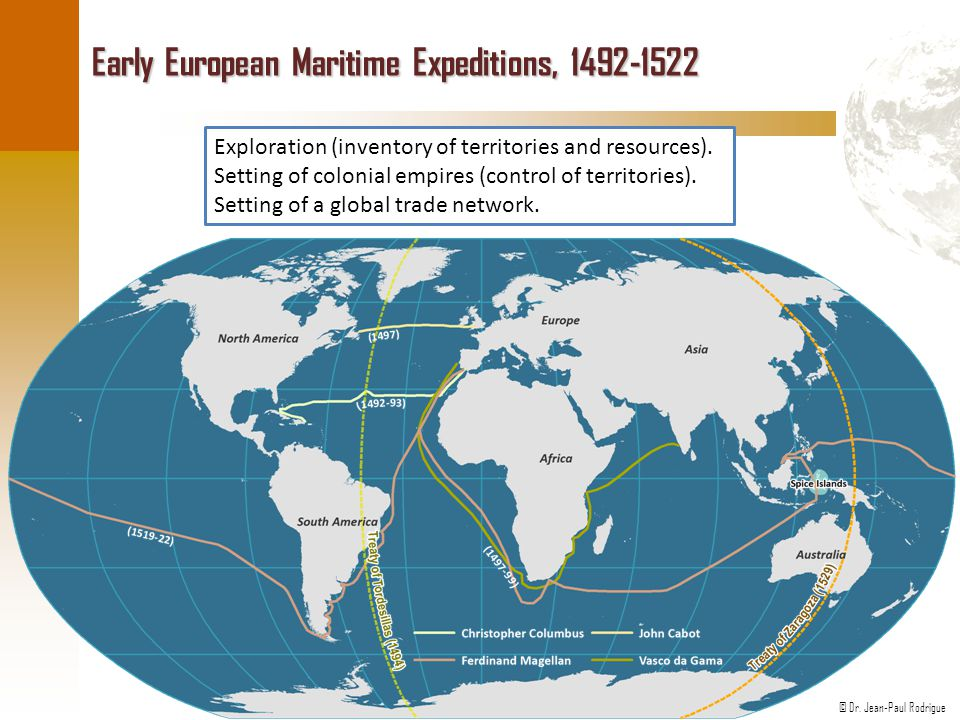 Early European Maritime Expeditions, 1492-1522