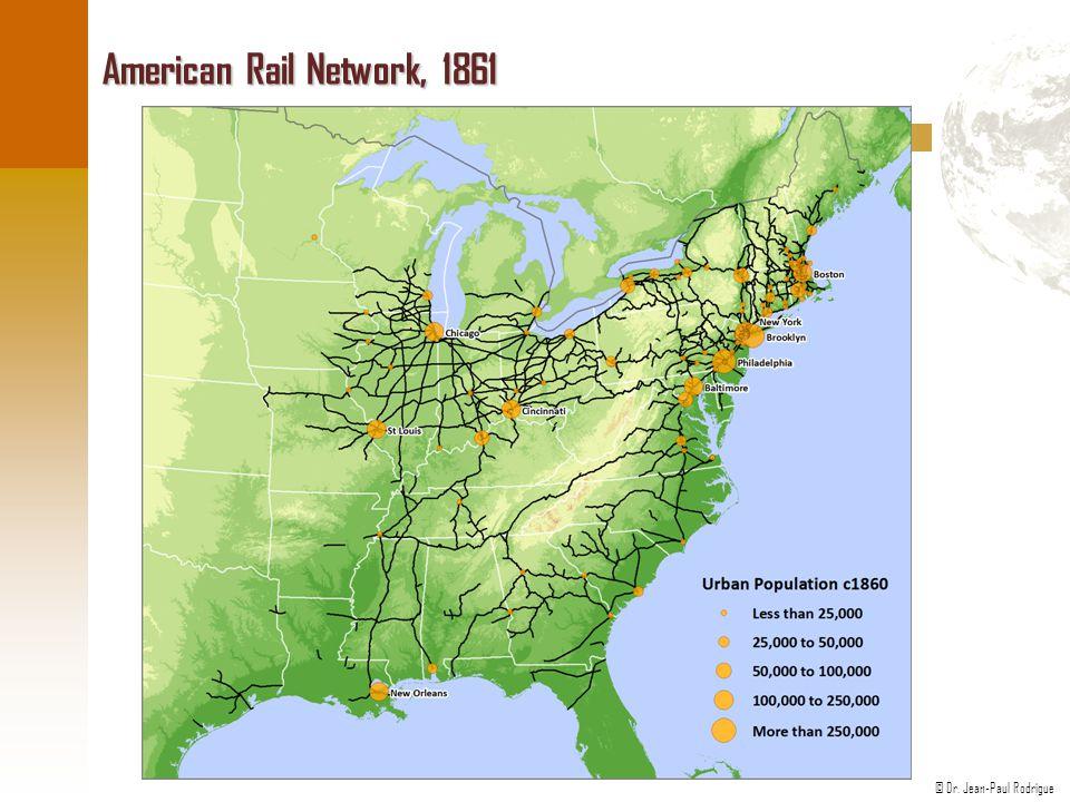 American Rail Network, 1861