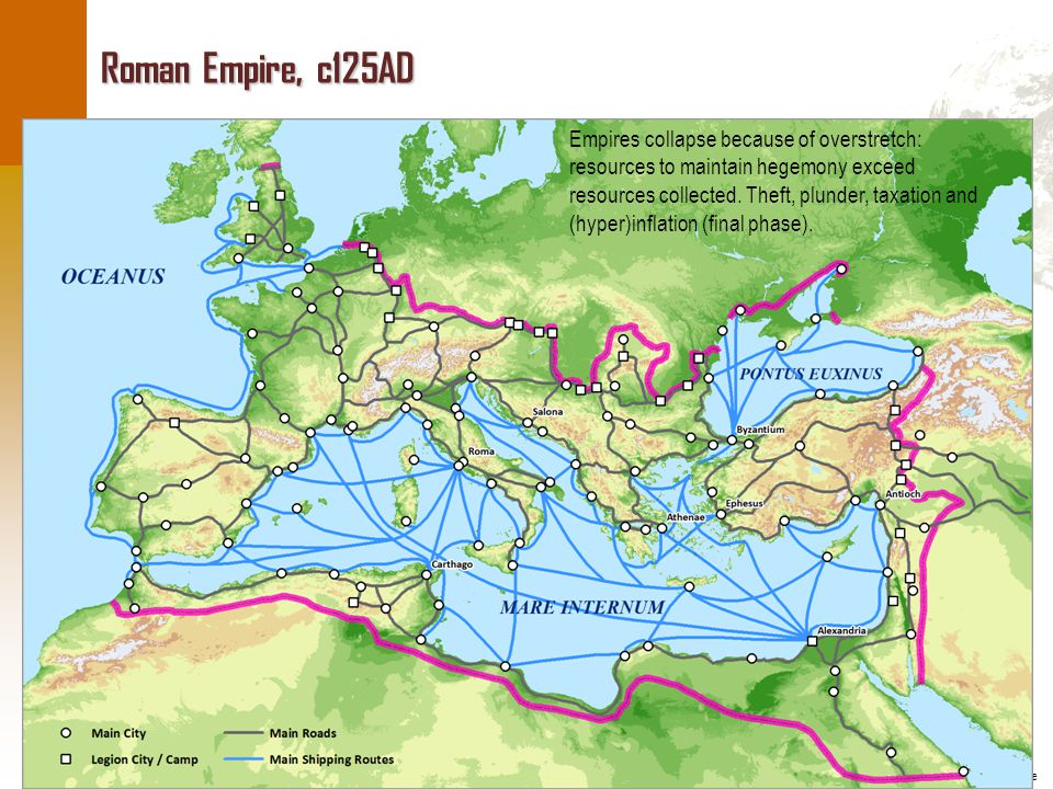 Roman Empire, c125AD