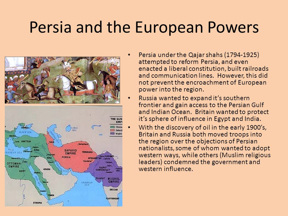 Persia and the European Powers