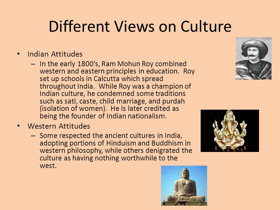 Different Views on Culture