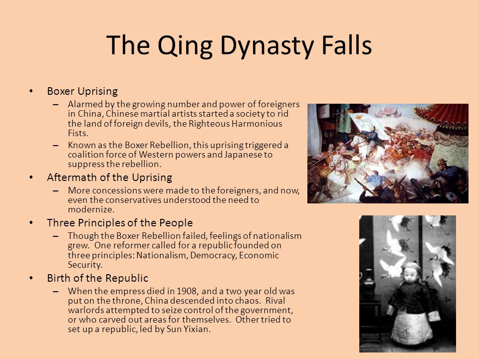 The Qing Dynasty Falls Boxer Uprising Aftermath of the Uprising