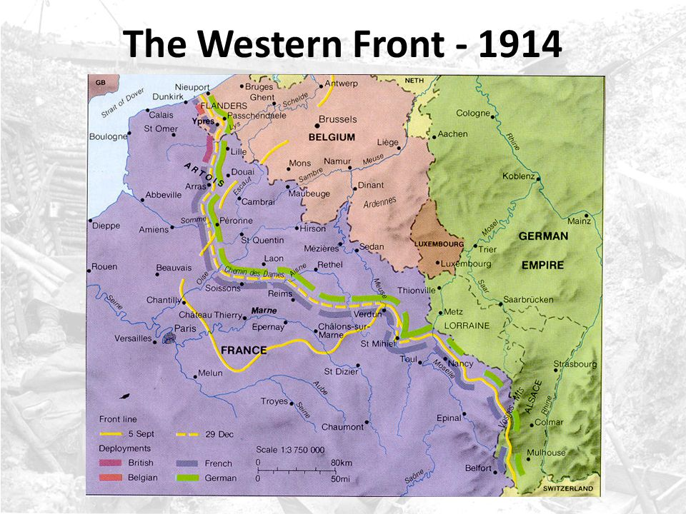 The Western Front - 1914