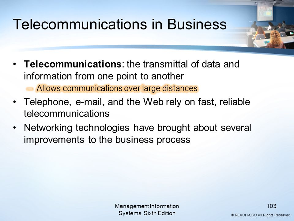 Telecommunications in Business