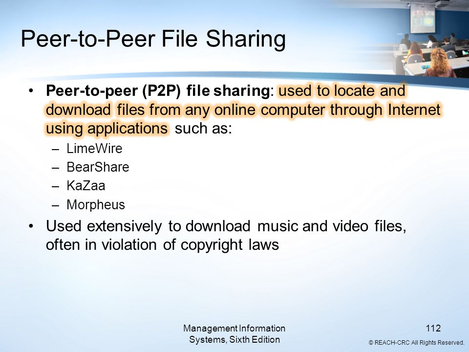 Peer-to-Peer File Sharing