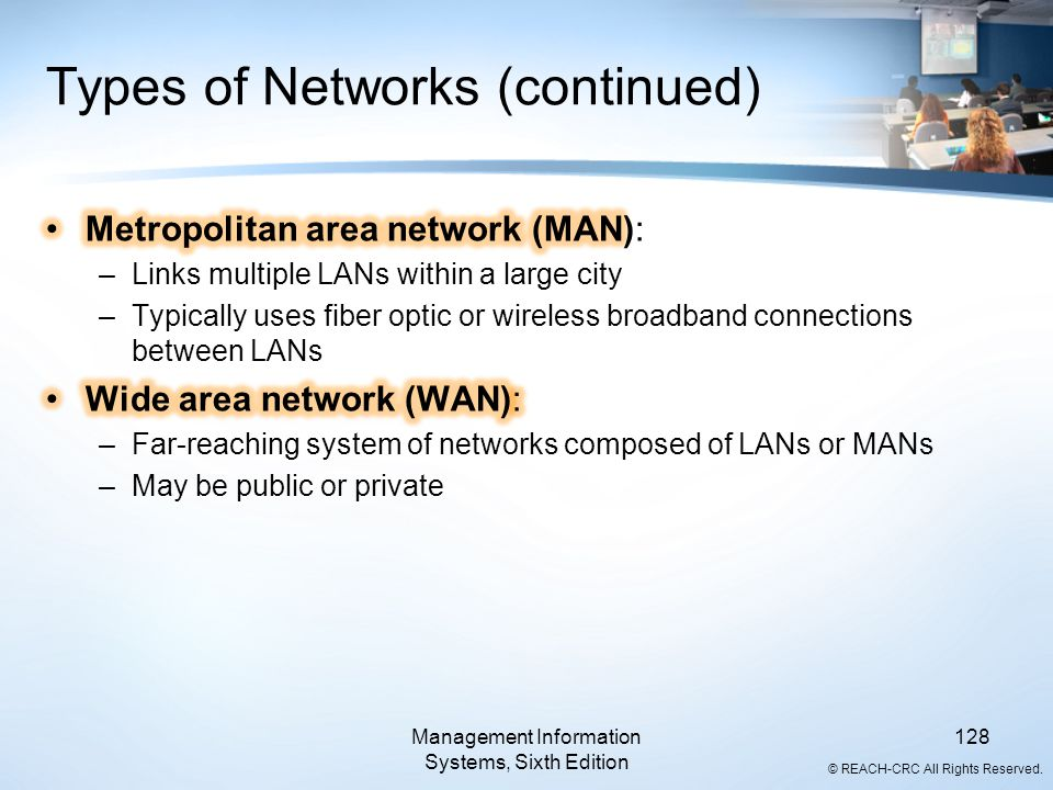 Types of Networks (continued)