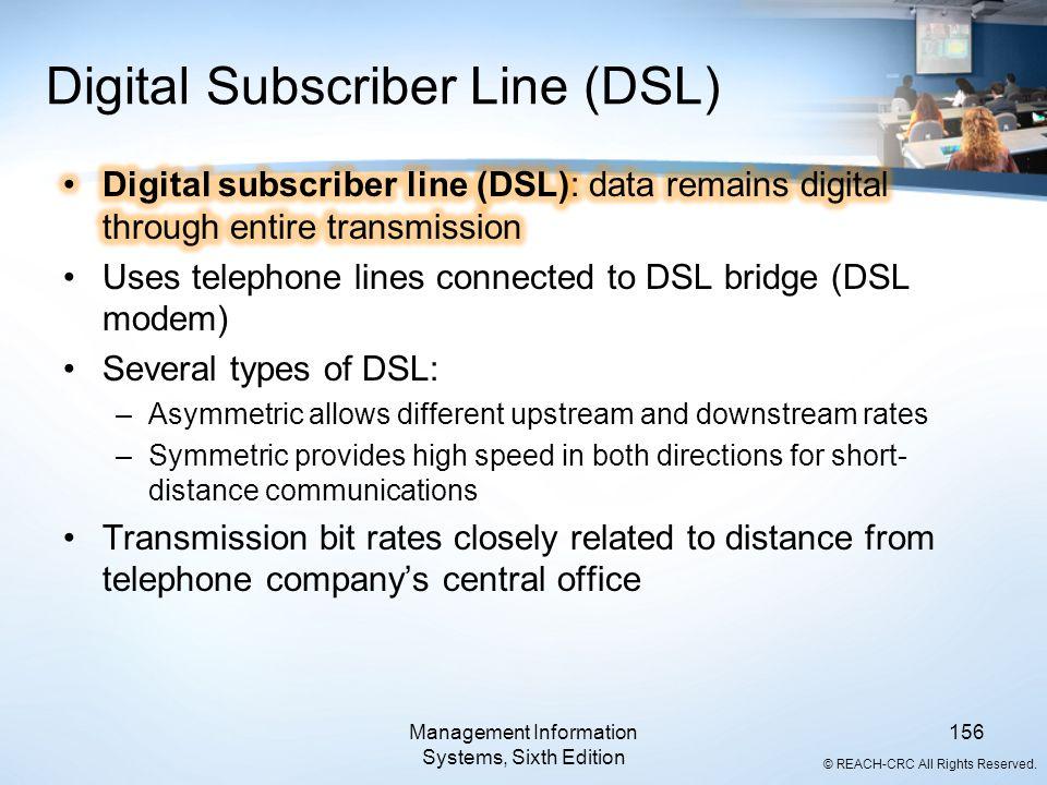 Digital Subscriber Line (DSL)