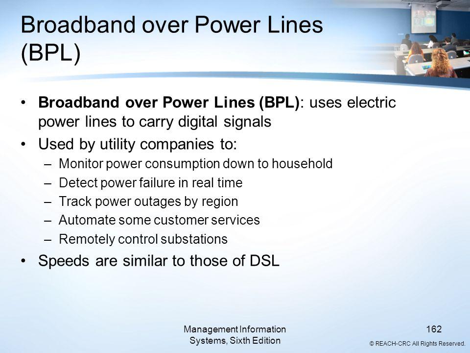 Broadband over Power Lines (BPL)