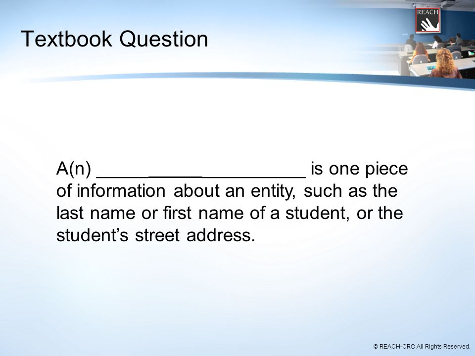 Textbook Question