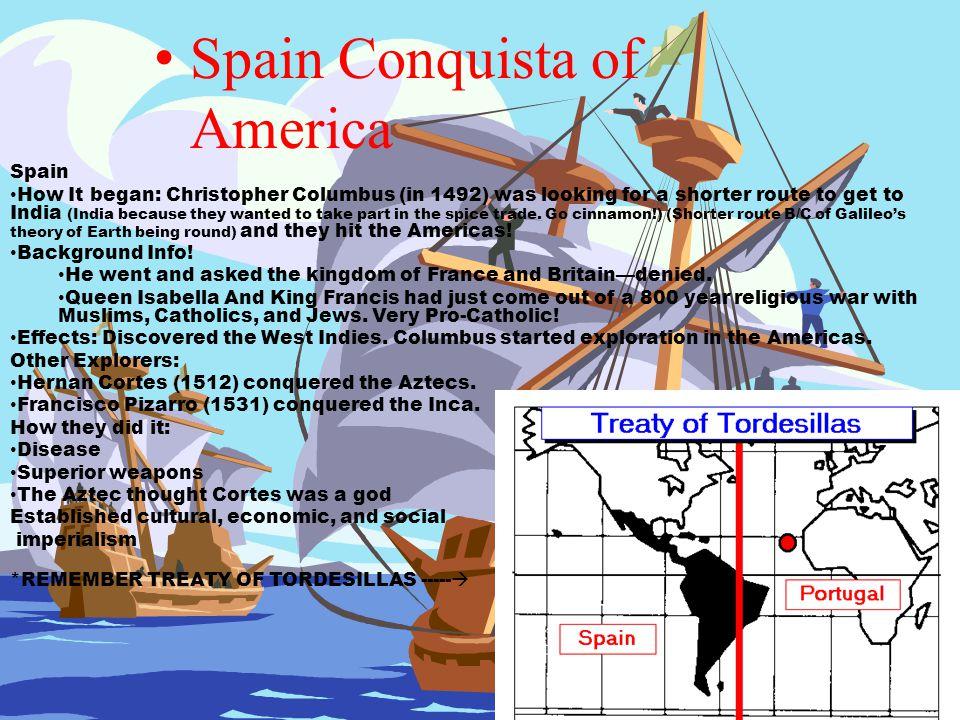 Spain Conquista of America