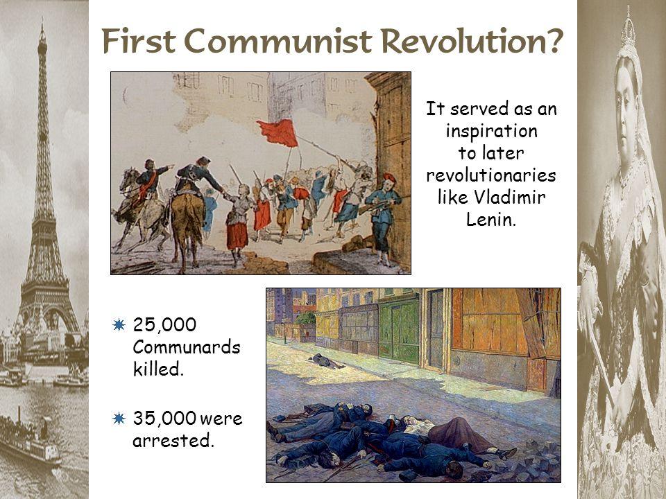 First Communist Revolution