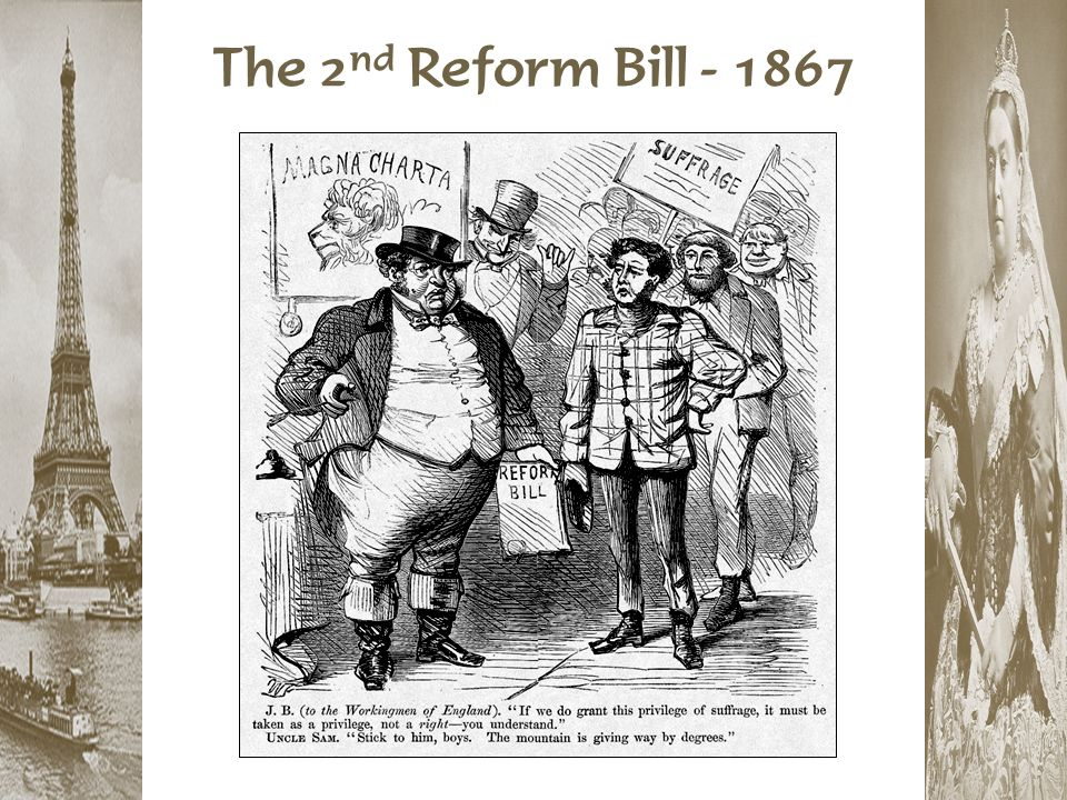 The 2nd Reform Bill - 1867