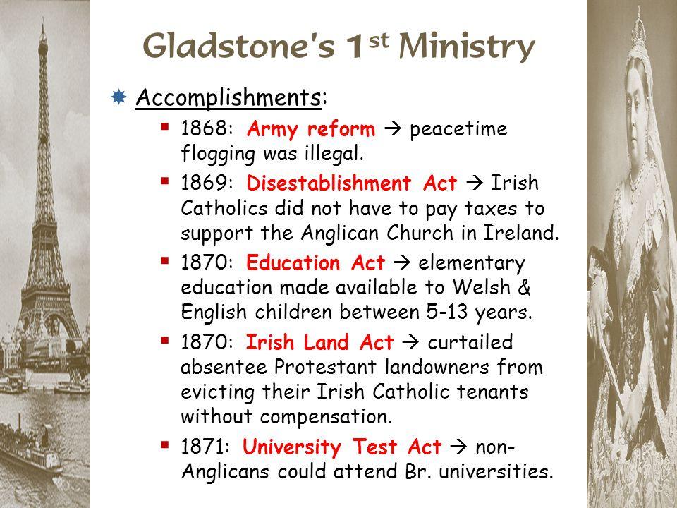 Gladstone's 1st Ministry