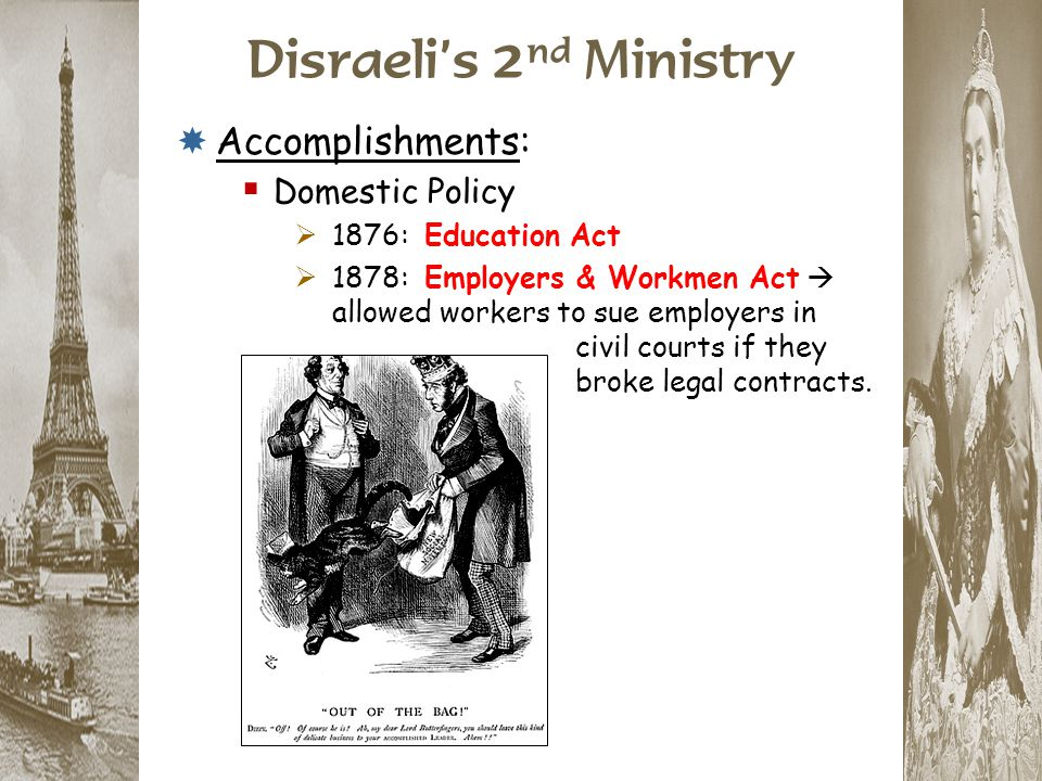 Disraeli's 2nd Ministry