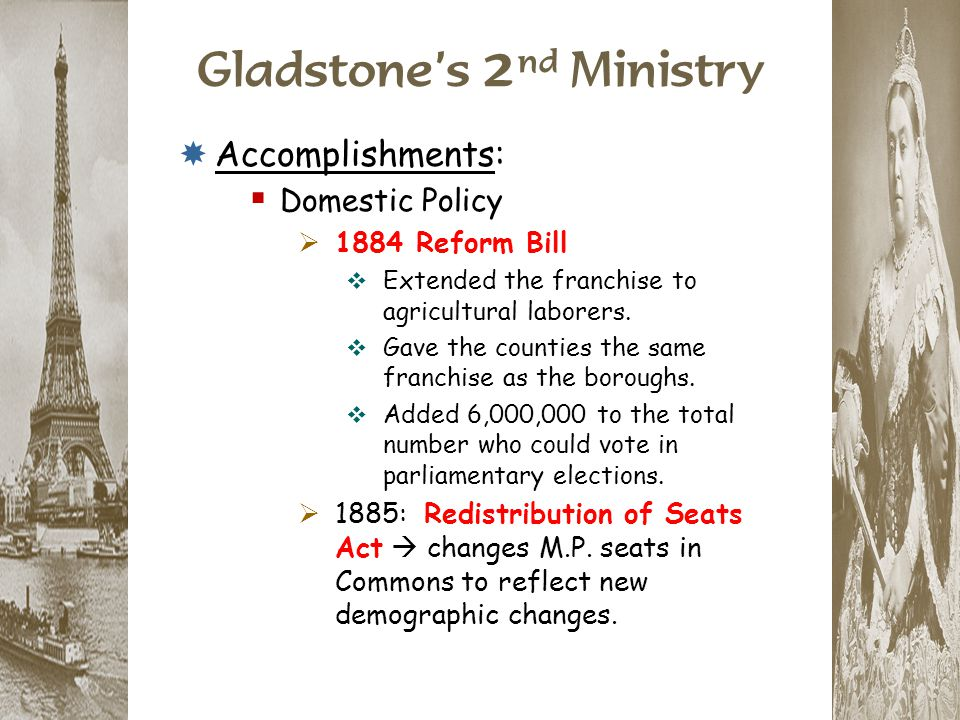 Gladstone's 2nd Ministry