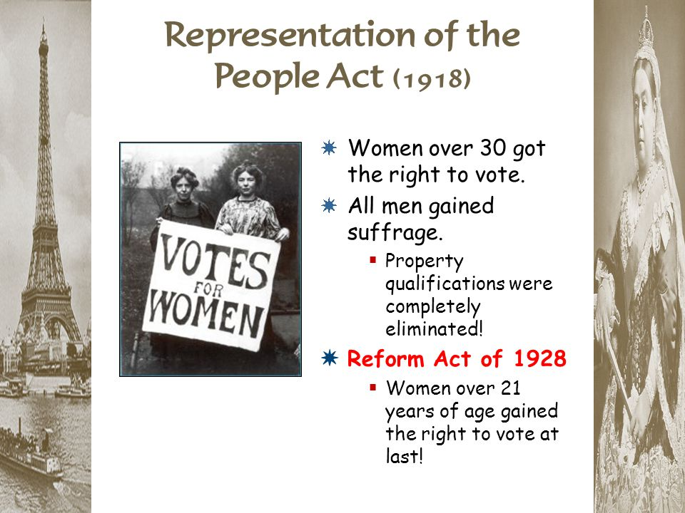 Representation of the People Act (1918)