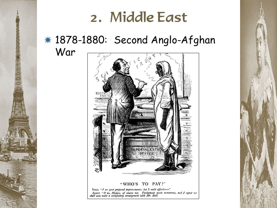 2. Middle East 1878-1880: Second Anglo-Afghan War