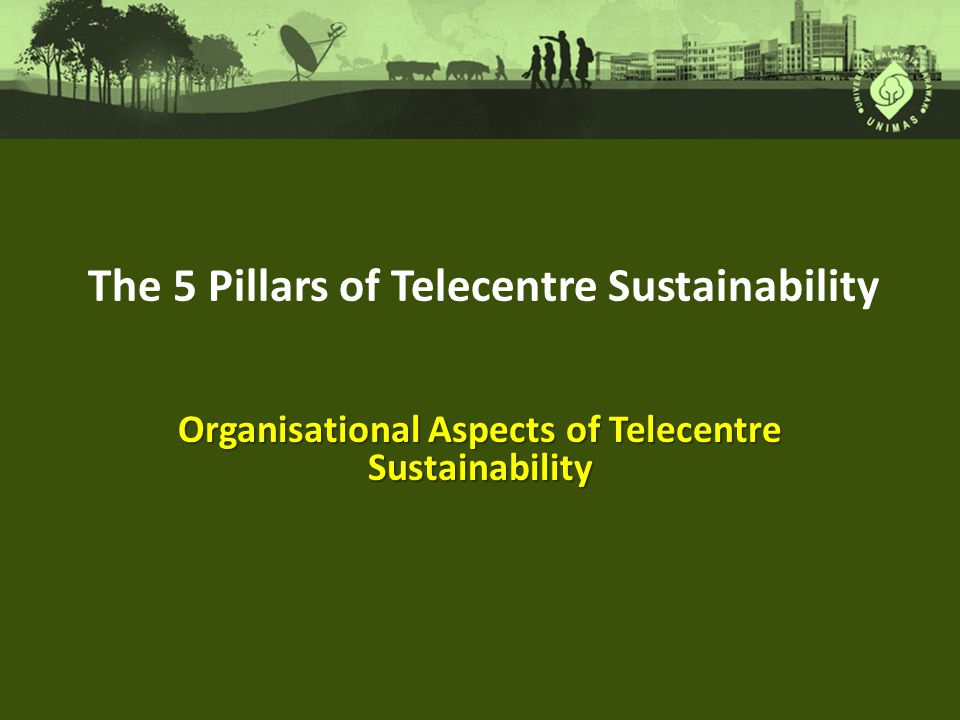 Organisational Aspects of Telecentre Sustainability