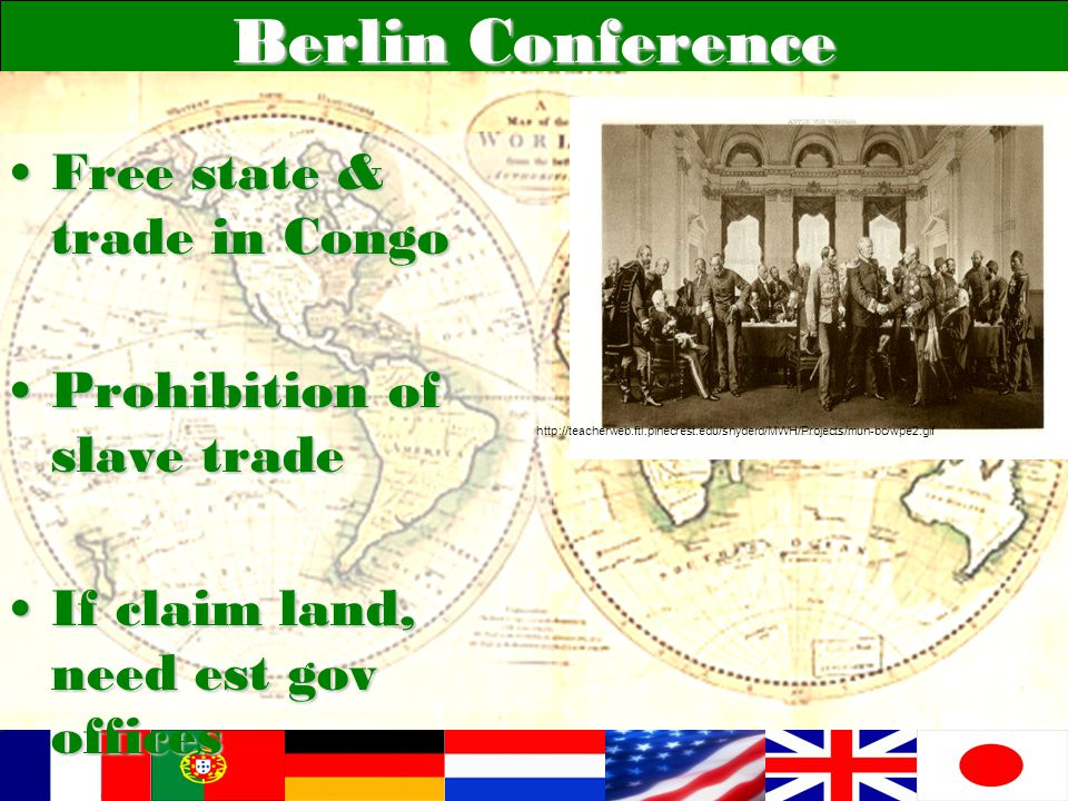 Berlin Conference Free state & trade in Congo