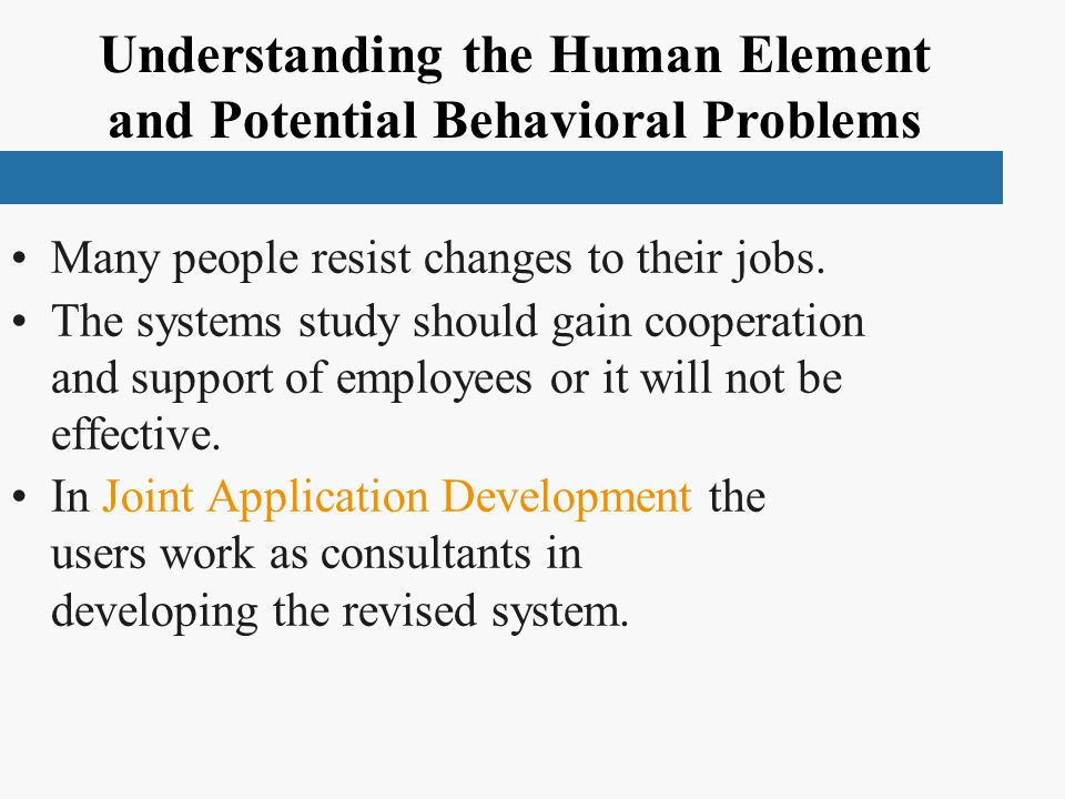 Understanding the Human Element and Potential Behavioral Problems