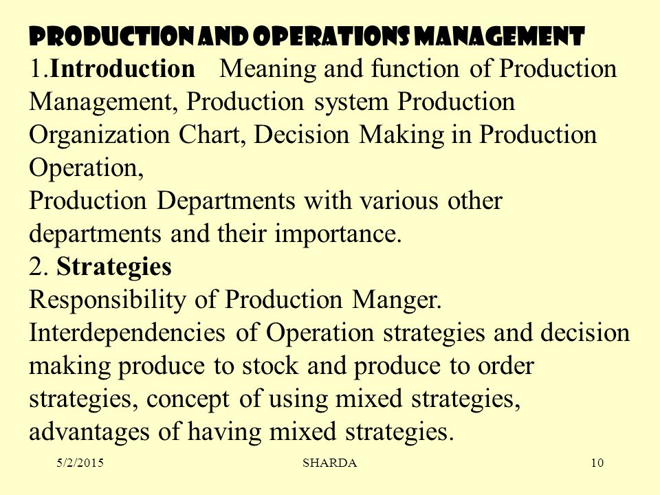 production and operation management book pdf free